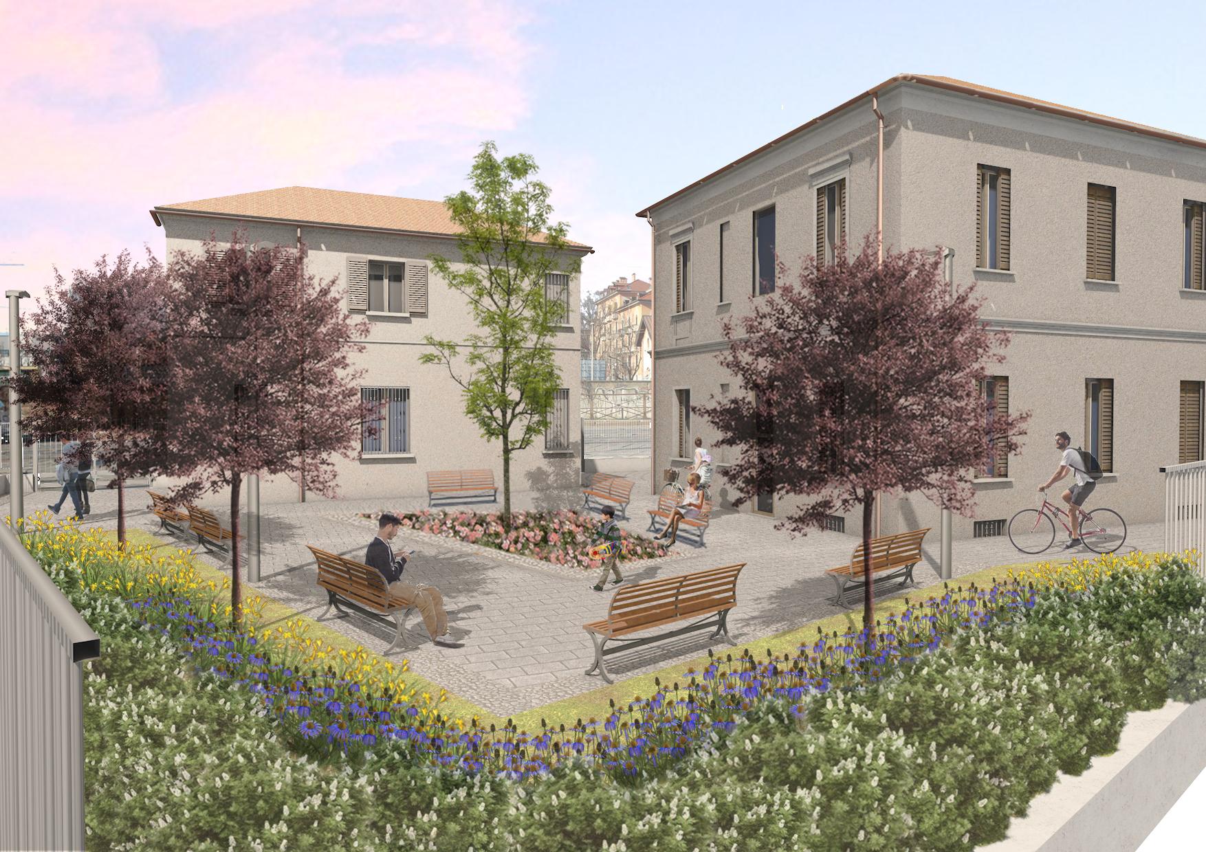 Recupero edilizio e funzionale di due edifici comunali in Ripa di Porta Ticinese 85 – Milano