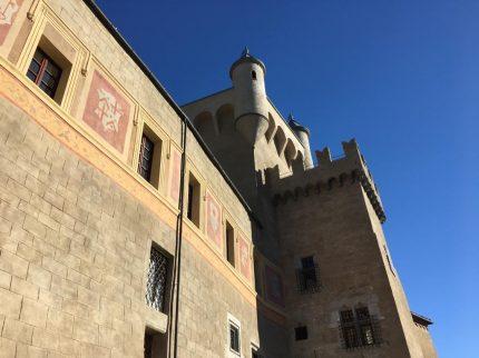Castello di Saint- Pierre  Lavori di restauro e allestimento museale