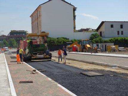 Opere di urbanizzazione in zona Ticinese – PROLUNGAMENTO VIA AUTARI